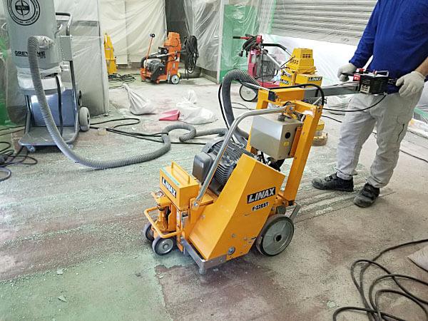 下地処理3 -田中塗り床工業-