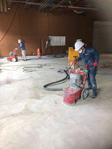 塗床改修工事施工事例2 -田中塗り床工業-