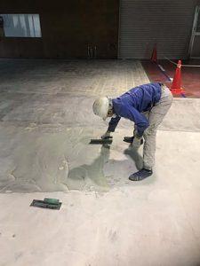 塗床改修工事施工事例3 -田中塗り床工業-