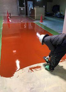 塗床改修工事施工事例5 -田中塗り床工業-