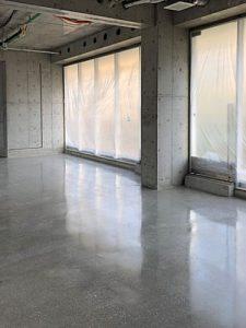 テナント改修工事HTCスーパーフロア(鏡面研磨仕上げ)6 - タナカペインティング-田中塗り床工業-