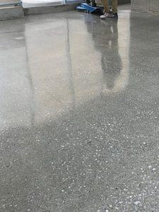 テナント改修工事HTCスーパーフロア(鏡面研磨仕上げ)9 - タナカペインティング-田中塗り床工業-
