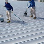 屋根遮熱塗装工事 - 群馬県