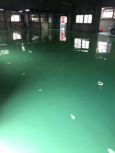 塗り床改修工事1 - 埼玉県 タナカペインティング-田中塗り床工業-