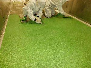 塗床 > 食品工場・厨房1 -田中塗り床工業-