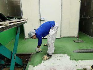 塗床 > 食品工場・厨房2 -田中塗り床工業-
