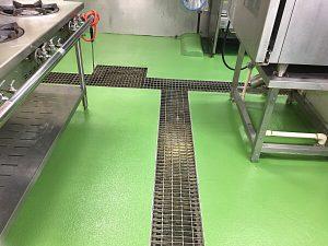 塗床 > 食品工場・厨房6 -田中塗り床工業-