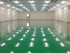塗床 > 機械工場2 -田中塗り床工業-