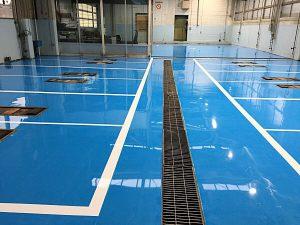 塗床 > 機械工場3 -田中塗り床工業-