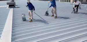 株式会社タナカペインティング(田中塗り床工業) 工場屋根遮熱塗装 施工事例