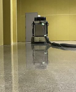 HTCスーパーフロア(鏡面研磨仕上げ)工事2 -田中塗り床工業-