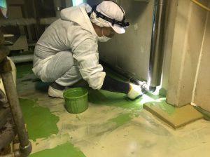 株式会社タナカペインティング-田中塗り床工業-M社塗床工事4