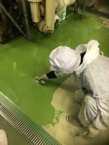 株式会社タナカペインティング-田中塗り床工業-M社塗床工事10