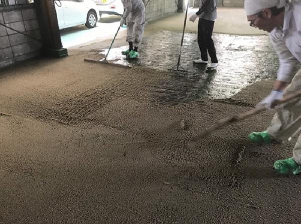 株式会社タナカペインティング-田中塗り床工業-塗床施工事例-下地処理1